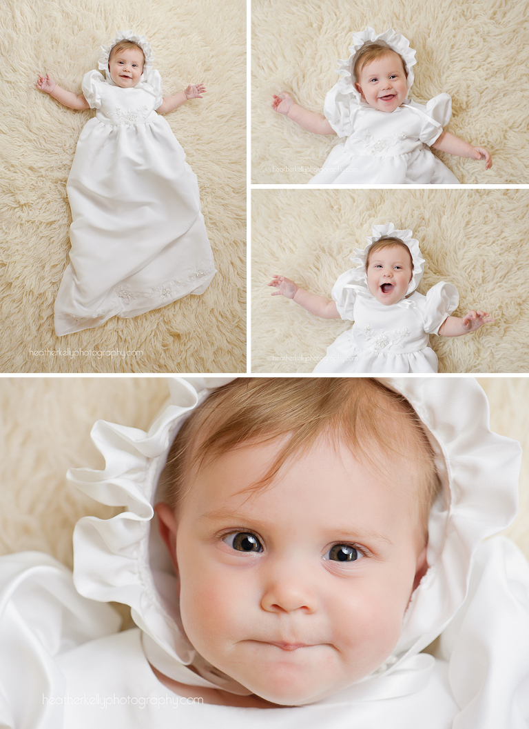 ct baptism portrait photographer baptism gown made out of wedding dress