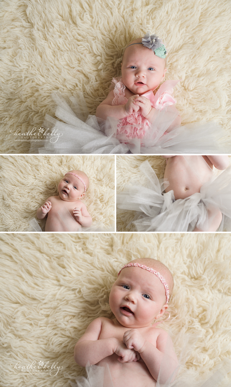 baby ella _ 3 months _ baby photographer _ Connecticut _ Heather Kelly Photography