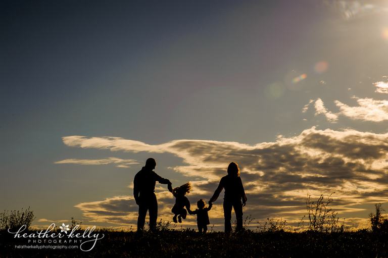 connecticut family photographer - shiloutte photography - brookfield ct - heather kelly photography