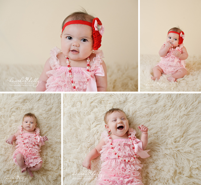 valentine's mini sessions in Connecticut - CT baby photographer - Heather Kelly Photography