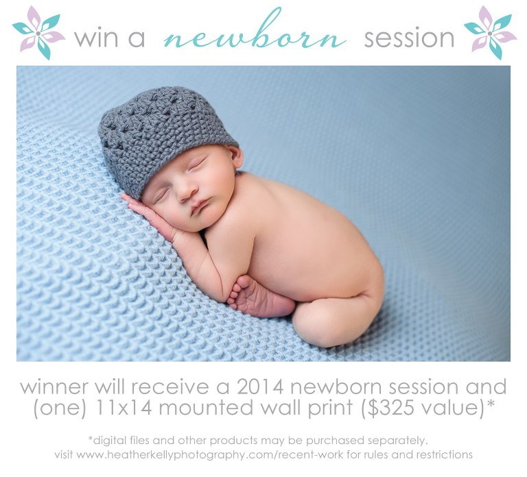 win a newborn session in ct - ct newborn session giveaway