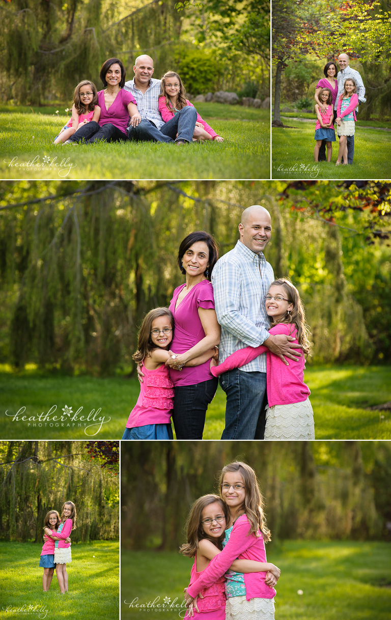 easton ct family photographer gorgeous family of 4
