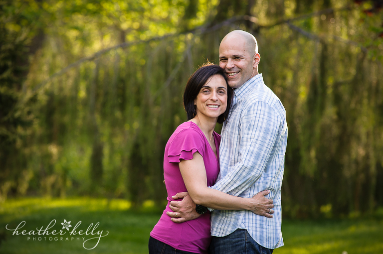 easton ct family photographer mom and dad