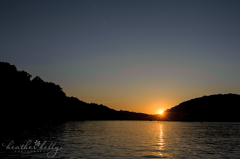 lake lillinonah at sunset newtown ct photographer