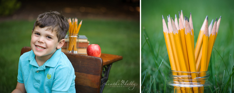 back to school session CT newtown family photographer
