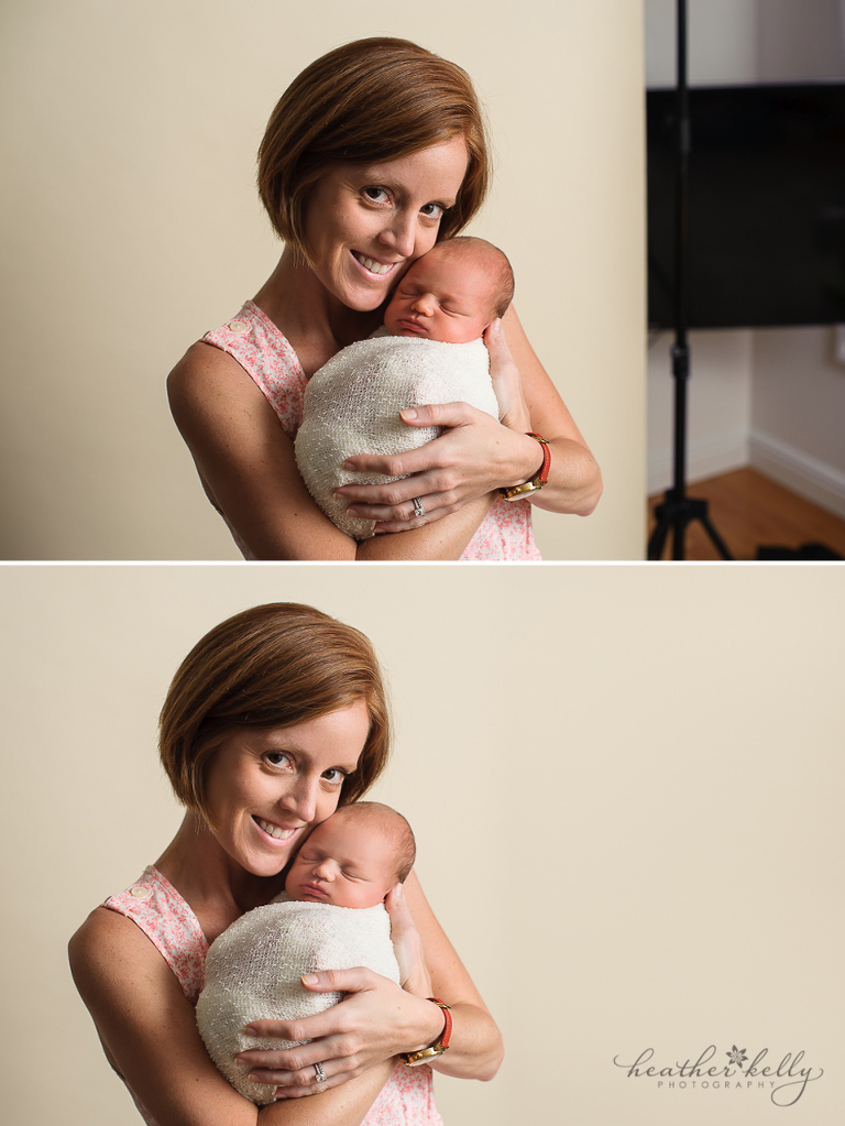 newborn photography before and afters ct newborn photographer