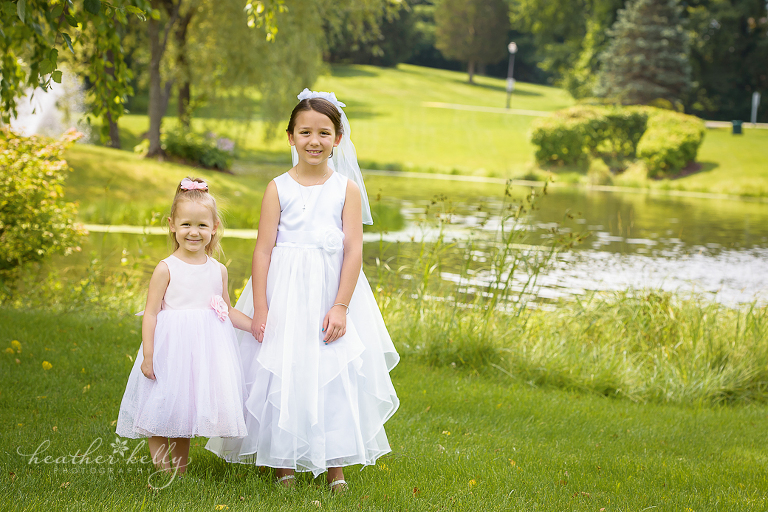 brewster family photographer first communion portraits