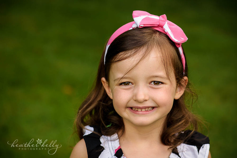 little sister during her New Fairfield CT photography session.