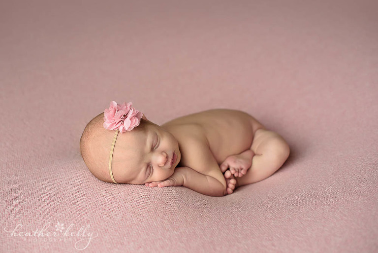 baby girl newborn photography pose adorable monroe newborn