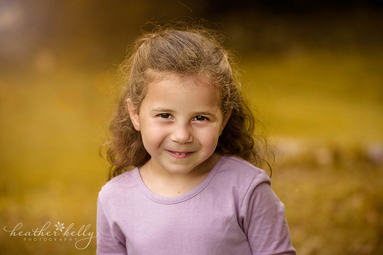 beautiful portrait of girl. new canaan family photos ct photography