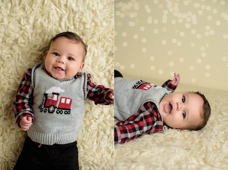 3 month baby boy. danbury baby photography