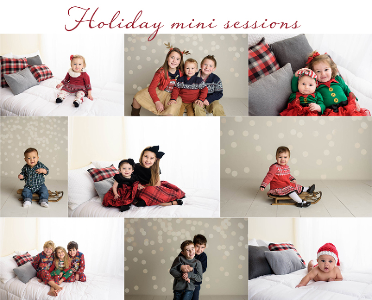 holiday mini sessions ct