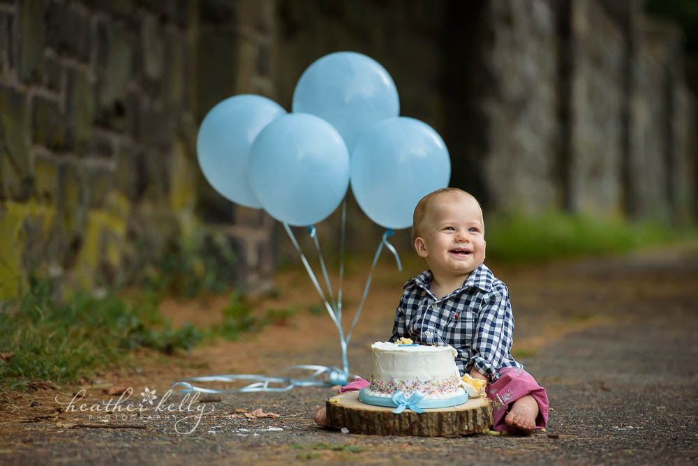 Cake Smash Photography New Haven Ct Axton Sneak Peek