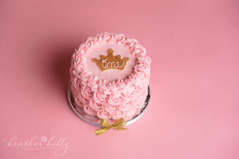 First Birthday Cake Smash Newtown Ct Gabriella Is One